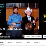 Jack D. Jolie Music Page on Facebook