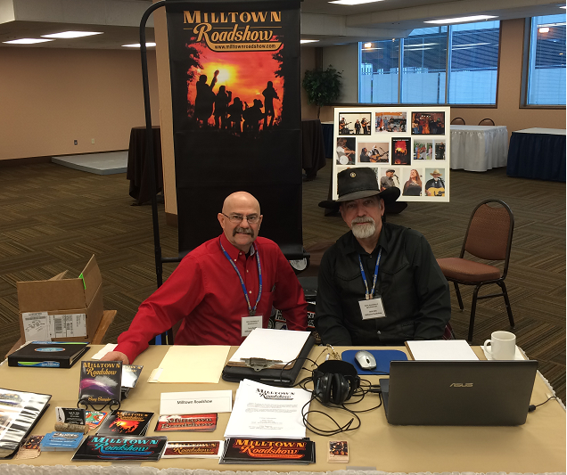 Terry and Jack at the MAAF MILLTOWN BOOTH - 29 JAN 2016